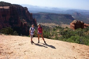 Memory lane 💕 Hiking in Sedona with my brother