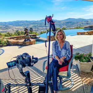 Sneak peek behind the scenes of this amazing view home in Rolling Hills Estates Fallbrook California. if you've ever dreamt of living on top of the world this is the place. #behindthescenes #realestatevideoshoot #yourcelebrityrealtor #rollinghillsestates #millionsollarviews #dreamhome